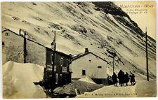 Cartolina Formato Piccolo - Mont Cenis - Hiver - Poste-Frontiere Et Refuge N° 18