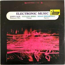 John Cage / Luciano Berio / Ilhan Mimaroglu – Electronic Music Vinyl