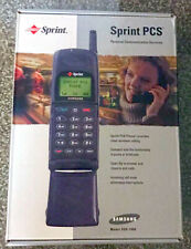 Vintage SAMSUNG Cell Phone Model SCH-1900 with original BOX, charger, stand,auto