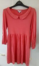 Tunic orange dress size 14 casual short mini dress blouse with leggings sexy