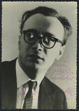 Alfred BRENDEL (Pianist): Signed Photograph