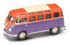 Volkswagen VW Microbus 1962 Orange / Violet 1:43 Model LUCKY DIE CAST