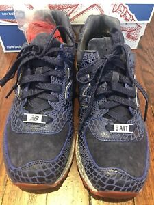 New Balance 574 Blue Red Bait Cobra Commander GI Joe Size 9.5 New Hasbro