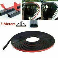 B-Shape Auto Car Door Window Edge Rubber Weatherstrip Seal Strip Sealing Trim 5M