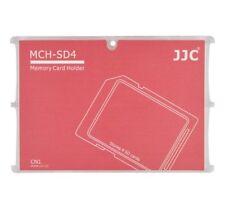 Tarjeta de Memoria Funda Caja Protección para 4 X Sd en Rojo