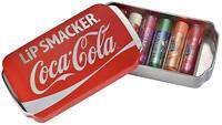 Lip Smacker COCA COLA Confezione da 6 tubetti burro cacao + astuccio scuola