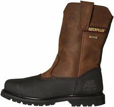 Caterpillar Men's Canyon Pull on Waterproof Steel Toe, Dark Brown, Size 11.0 6Td