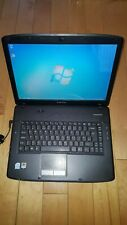 "Acer Emachines E520 Laptop Notebook 15.4"" 1GB 60GB SSD Windows 7 Office Cheap"