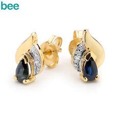 Yellow Sapphire Yellow Gold Fine Earrings