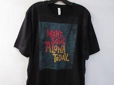 Make Some Aloha Today Hawaii T Shirt Mens XL Black Cotton Soft