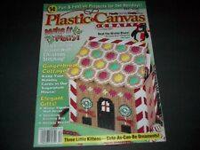 Plastic Canvas Crafts Magazine  Dec 2001 ~ 14 Awesome Plastic Canvas Projects