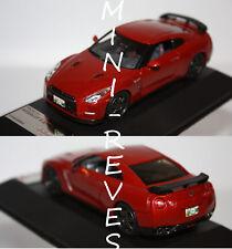 PremiumX Nissan GT-R 2014 rouge 1/43 PRD517J