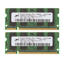 4GB 2x 2GB Micron 2GB PC2-5300 DDR2 667MH​z 200pin Sodimm Memory RAM For Laptop
