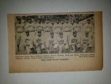 New York Black Yankees 1936 Team Picture Baseball Negro Leagues RARE!