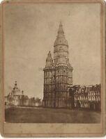 Eglise Cattedrale A Identificare Francia Germania Suisse ? Foto Vintage Citrato