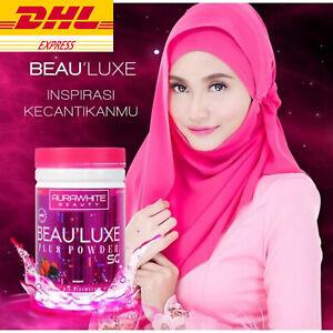 1 x Aura White Stemcell Collagen 15X L-Glutathione Skin Whitening Detox Muslim