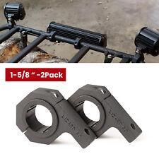"""1-5/8"""" Light Bar Mount Bracket for UTV RZR ATV Bumper Bull Bar Round Tube Clamps"""