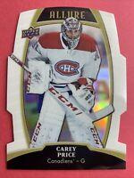 2019-20 Upper Deck Allure White Rainbow #11 Carey Price Montreal Canadiens