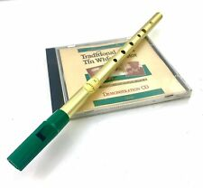 Feadog D Tin Whistle with CD