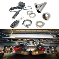"""Electric Exhaust Catback Downpipe Cutout E-Cut Out Valve System Remote 2"""" 51mm"""