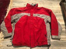 North Face Hyvent Ski Snow Jacket Men's Xl  Nice Red Gray