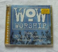 1999 Two CD Wow Worship, Yellow and Blue discs, Powerful Worship Songs