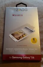 Zagg InvisibleShield Glass for Samsung Galaxy S6 - HD Clarity Screen Protector