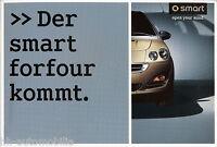 Prospekt Smart forfour 2003 car brochure Auto PKWs Autoprospekt Broschüre Europa