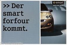 Prospetto SMART FORFOUR 2003 CAR brochure auto automobili auto prospetto opuscolo Europa