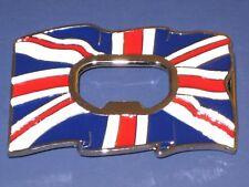 Union jack beer  bottle opener belt buckle British flag UK