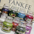 Yankee Candle SMALL JAR CANDLES 3.7 oz ~ RETIRED & NEW Scents VARIETY CHOICES