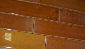 Victorian Fireplace Tile 1 1/2 INCH x 6 INCH