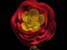 Vintage Millinery Flower Ranunculus Rich Deep Pink KN5