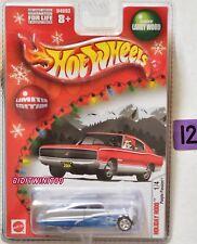 Hot Wheels Holiday Varillas 2004 Lila Pasión #1/4 Edición Limitada Azul con +