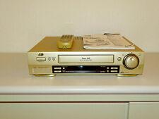 JVC hr-s7500 High-End S-VHS Video Recorder incl. fb&bda, 2 ANNI GARANZIA