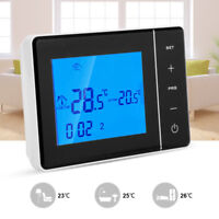 Programable Inalámbrico WiFi Digital LCD Termostato De Calefacción App 0-50℃