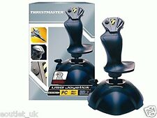 Thrustmaster Mac PC Joystick para juegos controlador USB Flight Games pulgar del acelerador