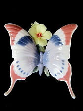 Lladro #6173 A Moments Rest Brand Nib Butterfly Flower Nature Colorful Save$ F/S