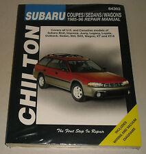 Reparaturanleitung Subaru Justy, Impreza, Legacy, Outback, SVX, XT, Bj. 1985-96