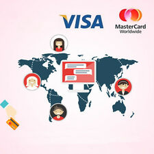 Virtual credit cards (validate Amazon, eBay, PayPal), $1VISA/ MasterCard