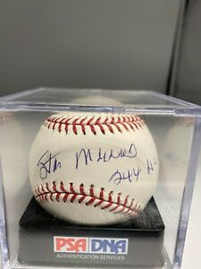"""Stan Musial """" 244 All Star """" Signed Official Baseball PSA/DNA 9 LOA - Open Seals"""