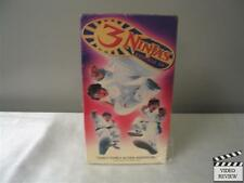3 Ninjas Knuckle Up (VHS, 1995, Closed Captioned) Victor Wong Charles Napier
