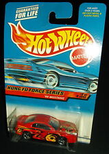 Hot Wheels 2000 #034 Kung Fu Force Series #2 of 4 1999 '99 Mustang Red 3SPs