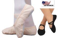 Toddler Girl & Adult  Ballet Dance Slipper Split-Sole Classic  Canvas Shoes OB