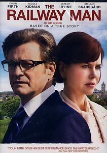NEW DVD // THE RAILWAY MAN // COLIN FIRTH , NICOLE KIDMAN, STELLAN SKARSGARD