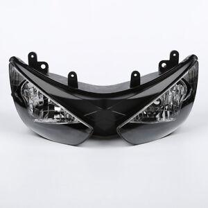 Headlight Headlamp Assembly Fit For Kawasaki Ninja ZX6R ZX-6R ZX636 2005 2006 05