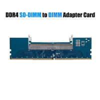 DDR4 SO-DIMM To DIMM Adapter Card Laptop To Desktop Memory RAM Connector