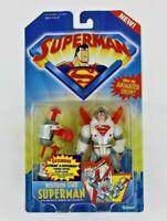 Kids WB Superman Animated Show Neutron Star Superman Action Figure Kenner 1996