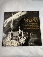 Motettkor/Nilsson - Cantate Domino * Proprius 7862 Sweden Audiophile LP w/Insert