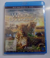 Wildlife Südafrika - Auf den Spuren von... - 3 teilige Doku Blu-Ray - 2013 - NEU